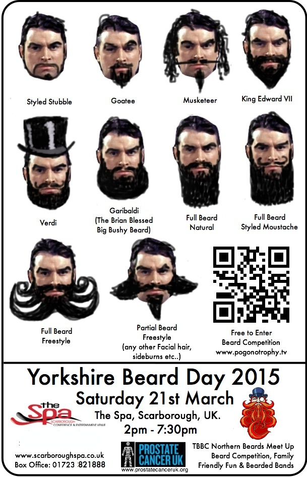 yorkshire beard day competition styles 2015