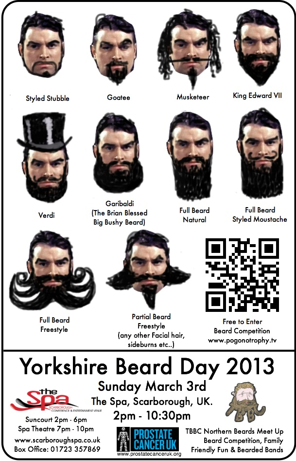 Yorkshire beard day style guide 2013