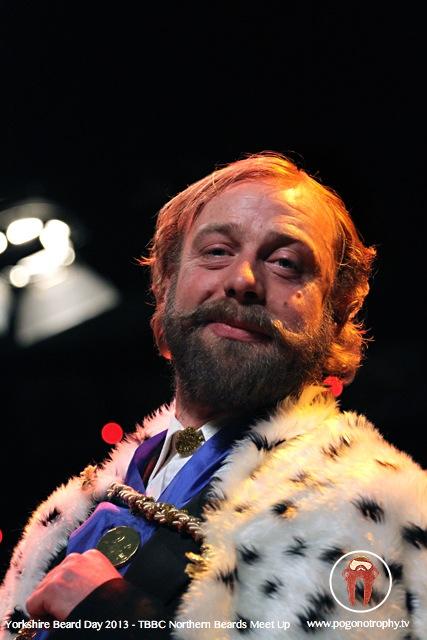 Mark Snow - King Edward - colour -Yorkshire beard day 2013 - TBBC Northern Beards Meet Up at The Spa Theatre, Scarborough Spa, Scarborough, UK - ©Simon Heaton 2013