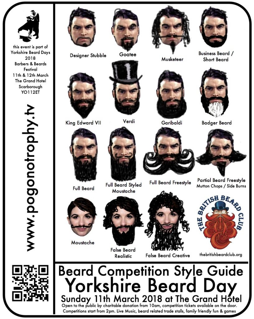 Beard Style Guide Yorkshire beard day 2018