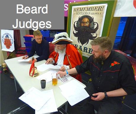 Yorkshire Beard Day 2020 Beard Judges